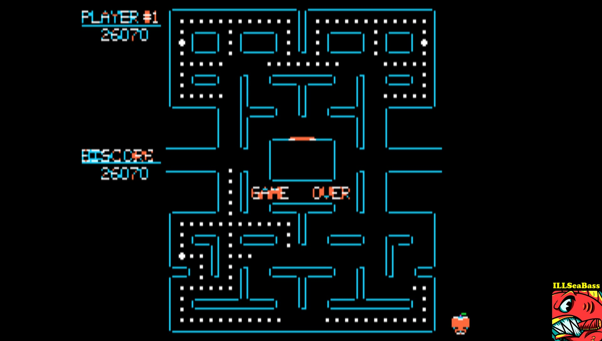 Pac-Man 26,070 points