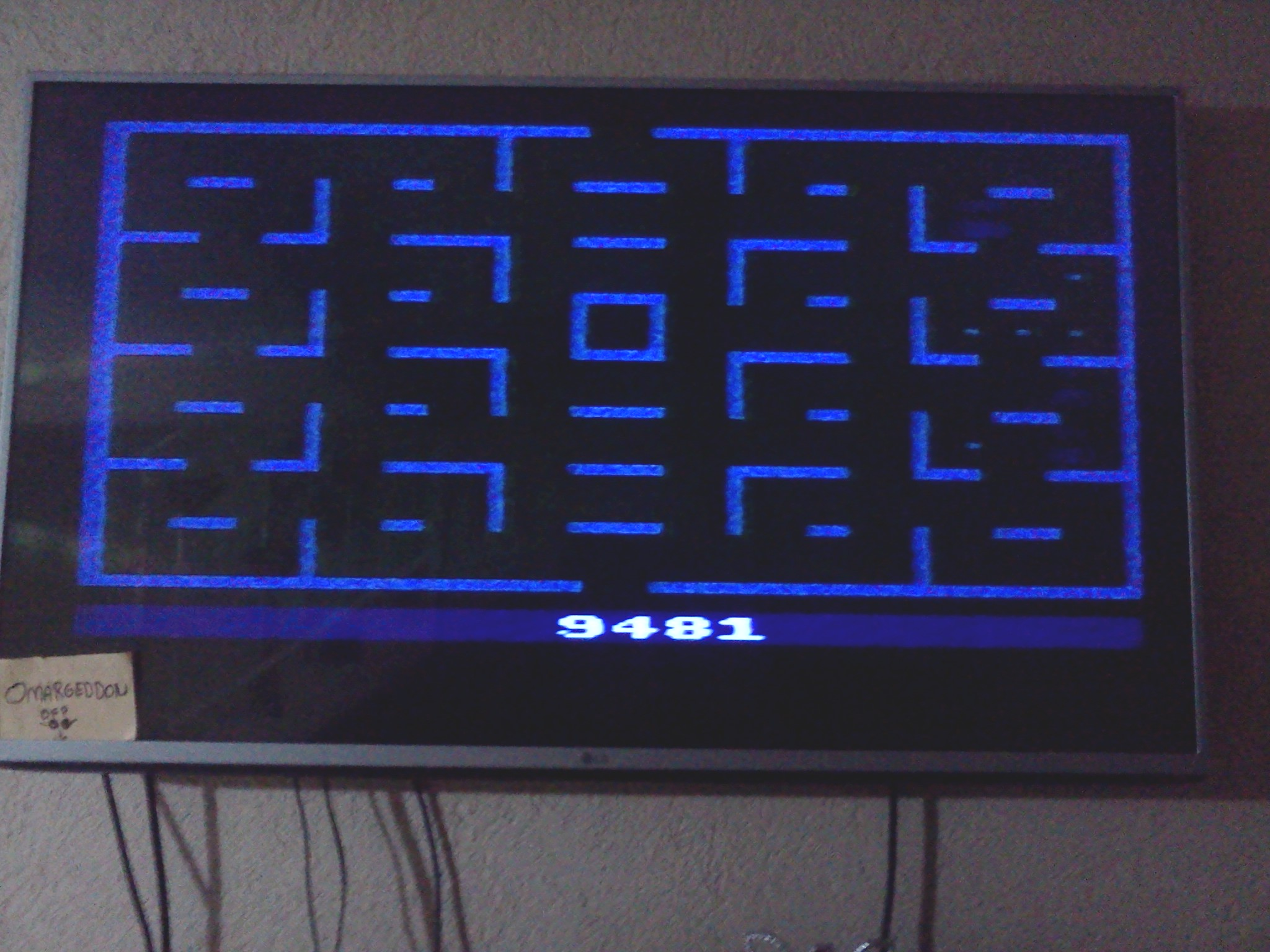 Pac-Man 9,481 points