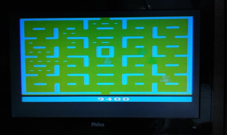 oyamafamily: Pac-Man (Atari 2600 Novice/B) 9,400 points on 2017-11-03 19:31:20