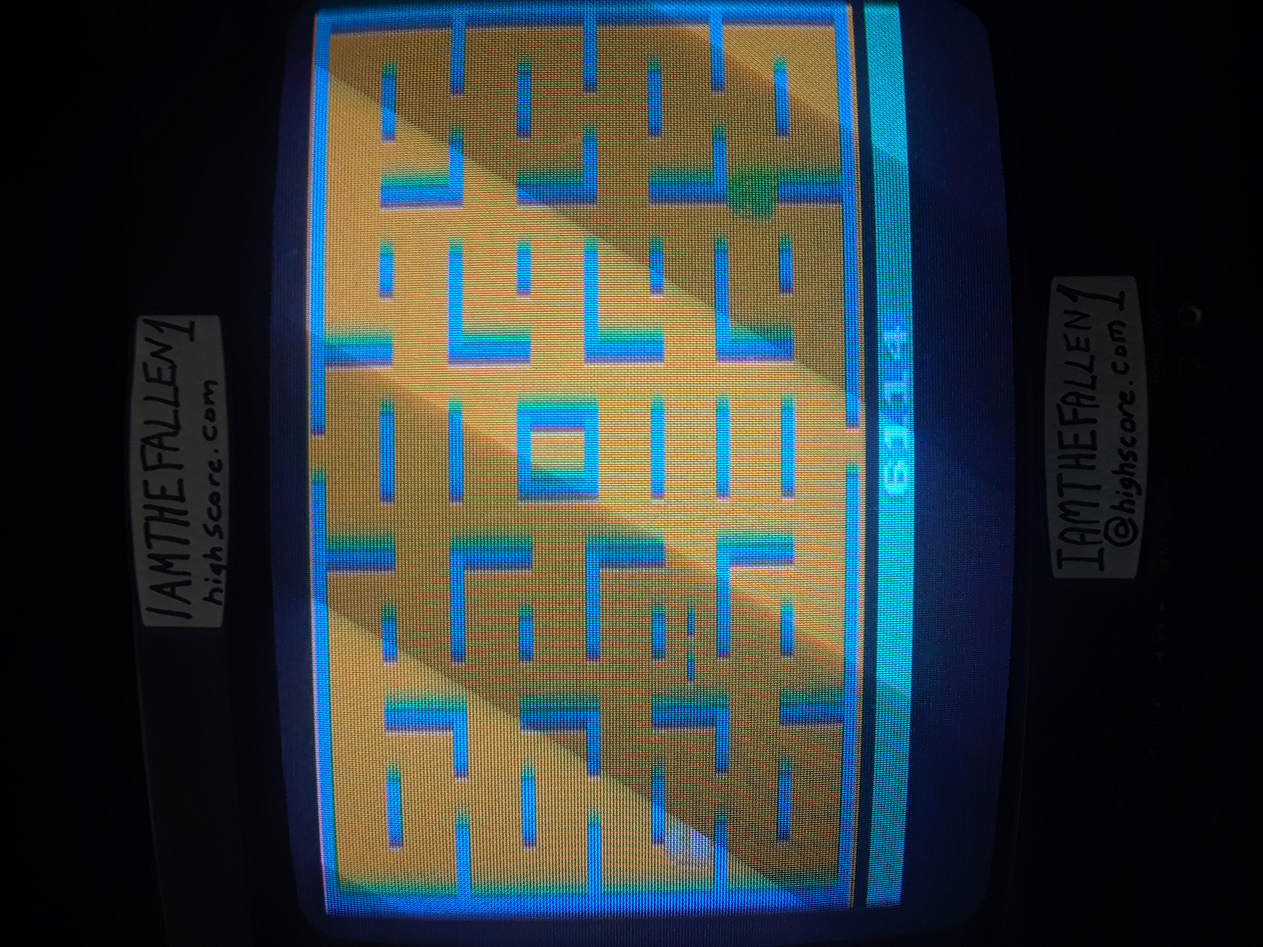 Pac-Man 6,114 points