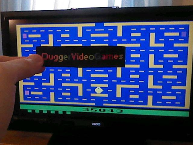 DuggerVideoGames: Pac-Man (Atari 2600 Emulated Novice/B Mode) 35,043 points on 2018-01-11 12:59:08
