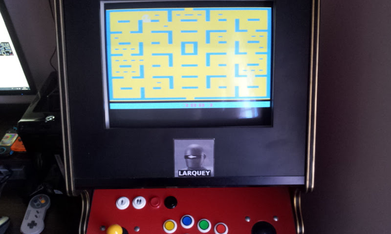Larquey: Pac-Man (Atari 2600 Emulated Novice/B Mode) 3,883 points on 2018-02-20 08:02:57