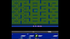 S.BAZ: Pac-Man (Atari 2600 Emulated Novice/B Mode) 4,186 points on 2020-06-04 14:59:33
