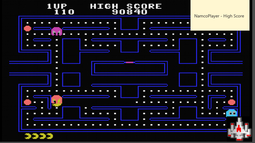 NamcoPlayer: Pac-Man [Atari] [Easy] (Colecovision Emulated) 90,840 points on 2020-11-29 11:34:01