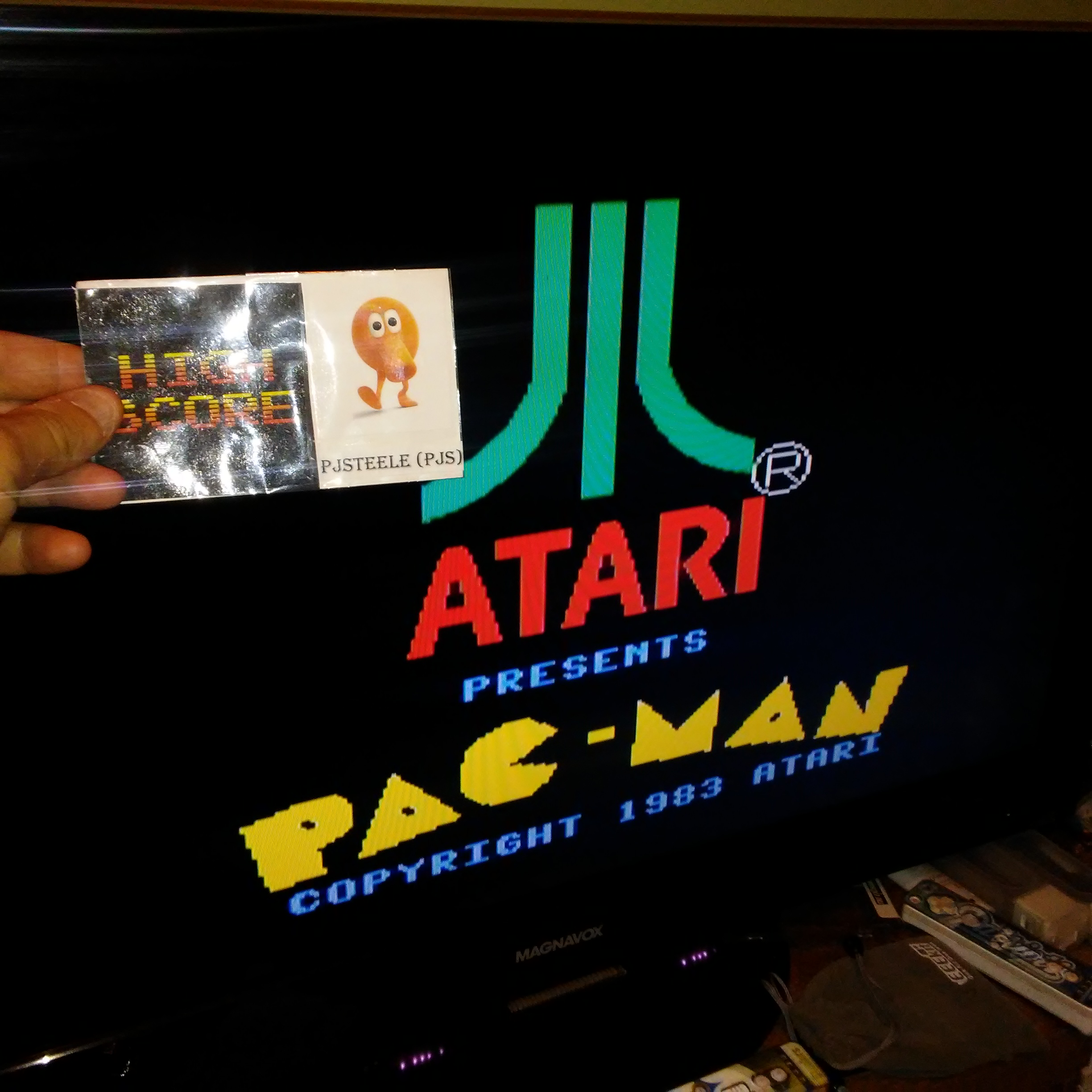Pjsteele: Pac-Man [Atari] [Easy] (Colecovision Emulated) 43,970 points on 2017-10-15 11:32:21