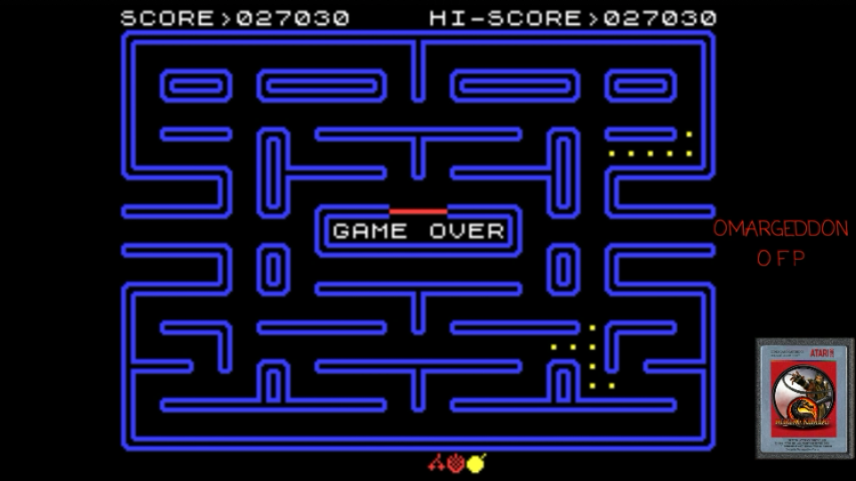 omargeddon: Pac-Man [Atarisoft] (ZX Spectrum Emulated) 27,030 points on 2017-05-12 15:53:56