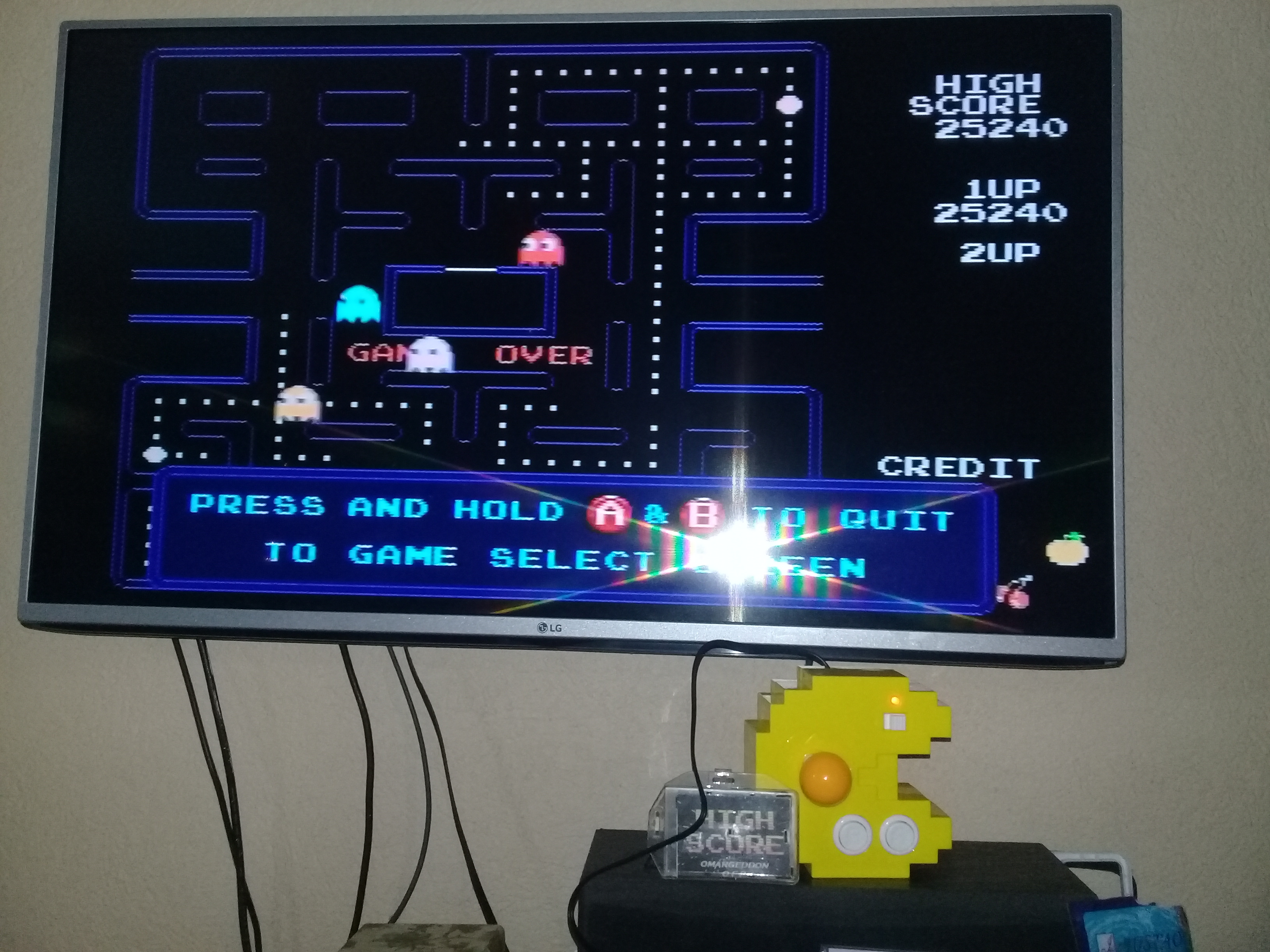 Pac-Man 25,240 points