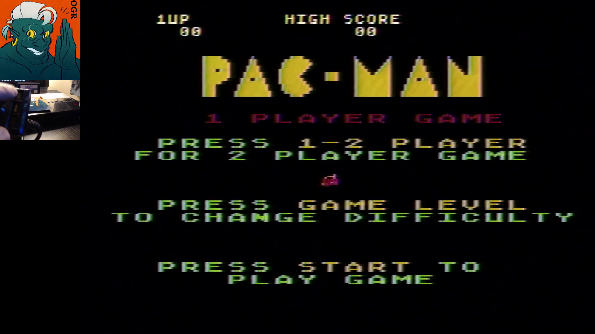 AwesomeOgre: Pac-Man: Cherries Start (Atari 5200) 20,360 points on 2020-01-06 17:19:38