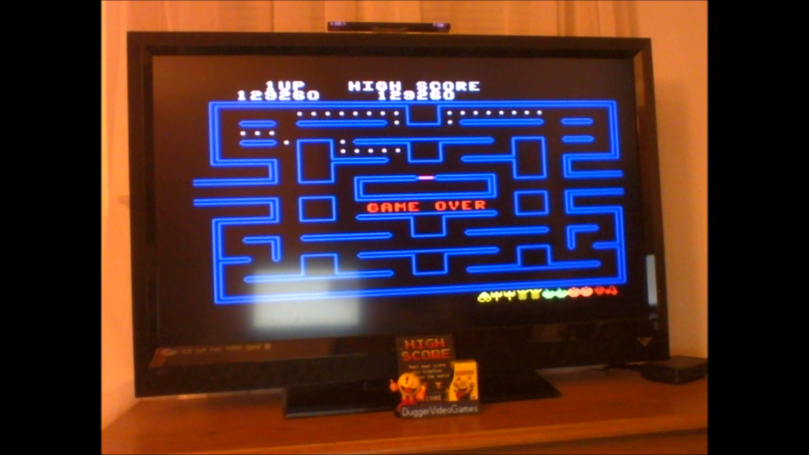 DuggerVideoGames: Pac-Man (Colecovision Emulated) 129,260 points on 2016-11-30 17:18:22