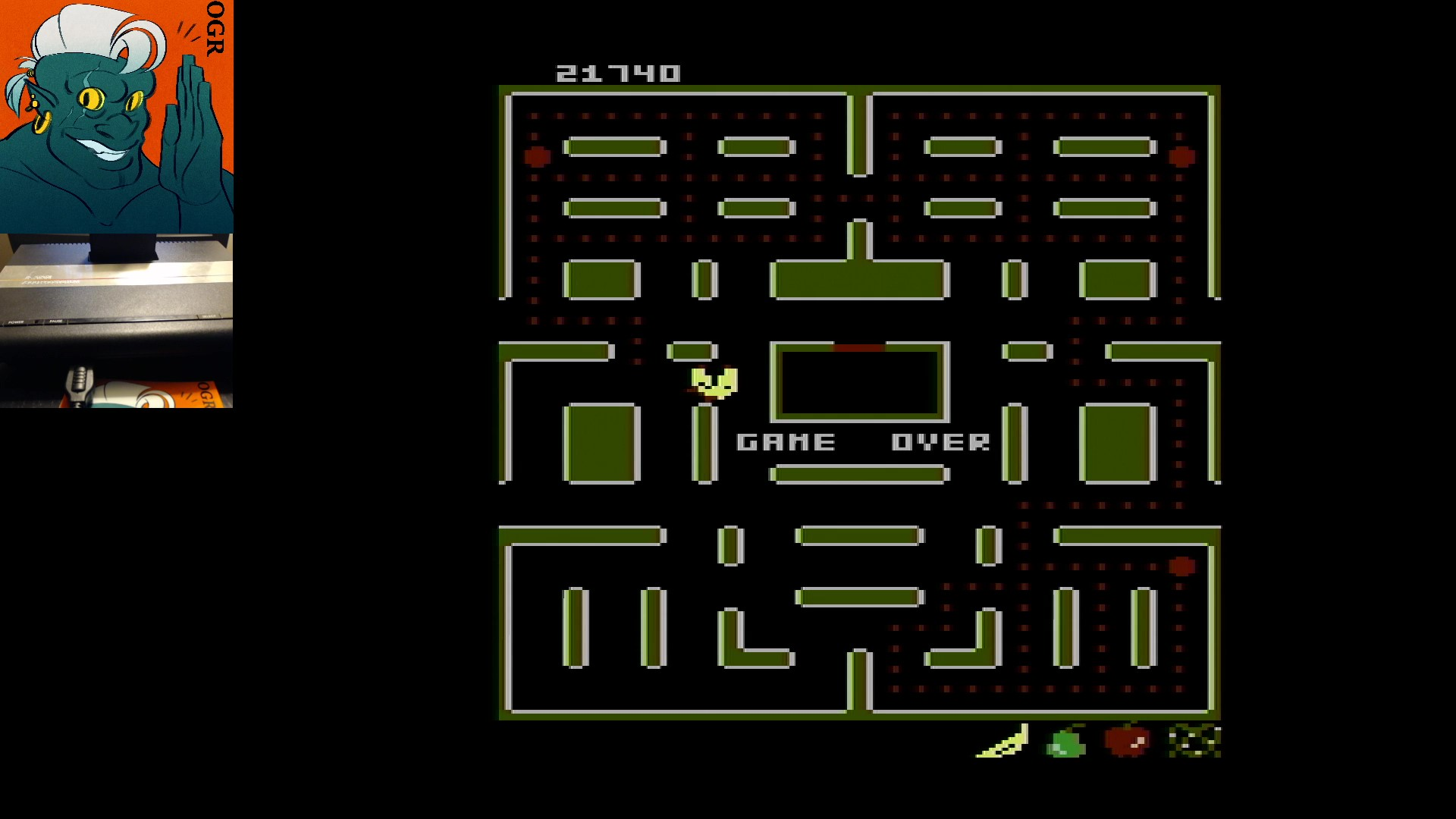 AwesomeOgre: Pac-Man Collection: Ms. Pac-Attack [Pretzel/Plus Off/Fast Off] (Atari 7800) 21,740 points on 2020-03-03 10:53:57