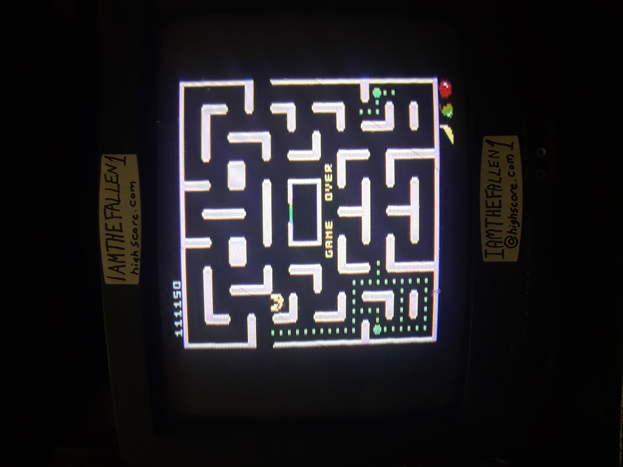 iamthefallen1: Pac-Man Collection: Ms. Pac-Man: 5 Lives [Apple/Plus Off/Fast On] (Atari 7800) 111,150 points on 2019-01-31 19:03:31