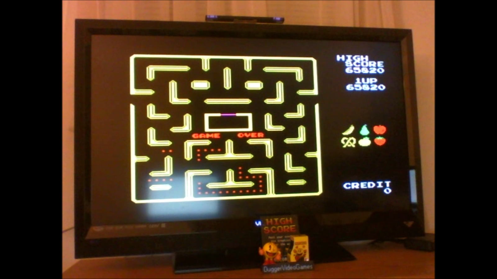 DuggerVideoGames: Pac-Man Collection: Ms. Pac-Man (Colecovision Emulated) 65,820 points on 2016-12-20 00:57:49