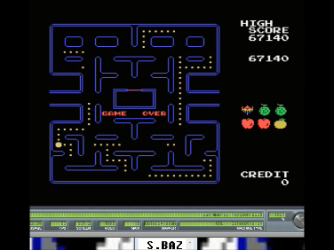 S.BAZ: Pac-Man Collection: Pac-Man (Colecovision Emulated) 67,140 points on 2016-12-04 15:51:36