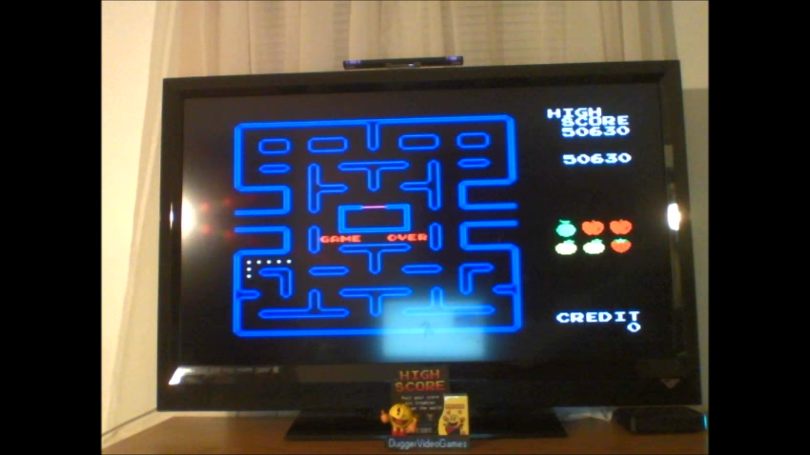 DuggerVideoGames: Pac-Man Collection: Pac-Man (Colecovision Emulated) 50,630 points on 2016-12-19 18:21:17