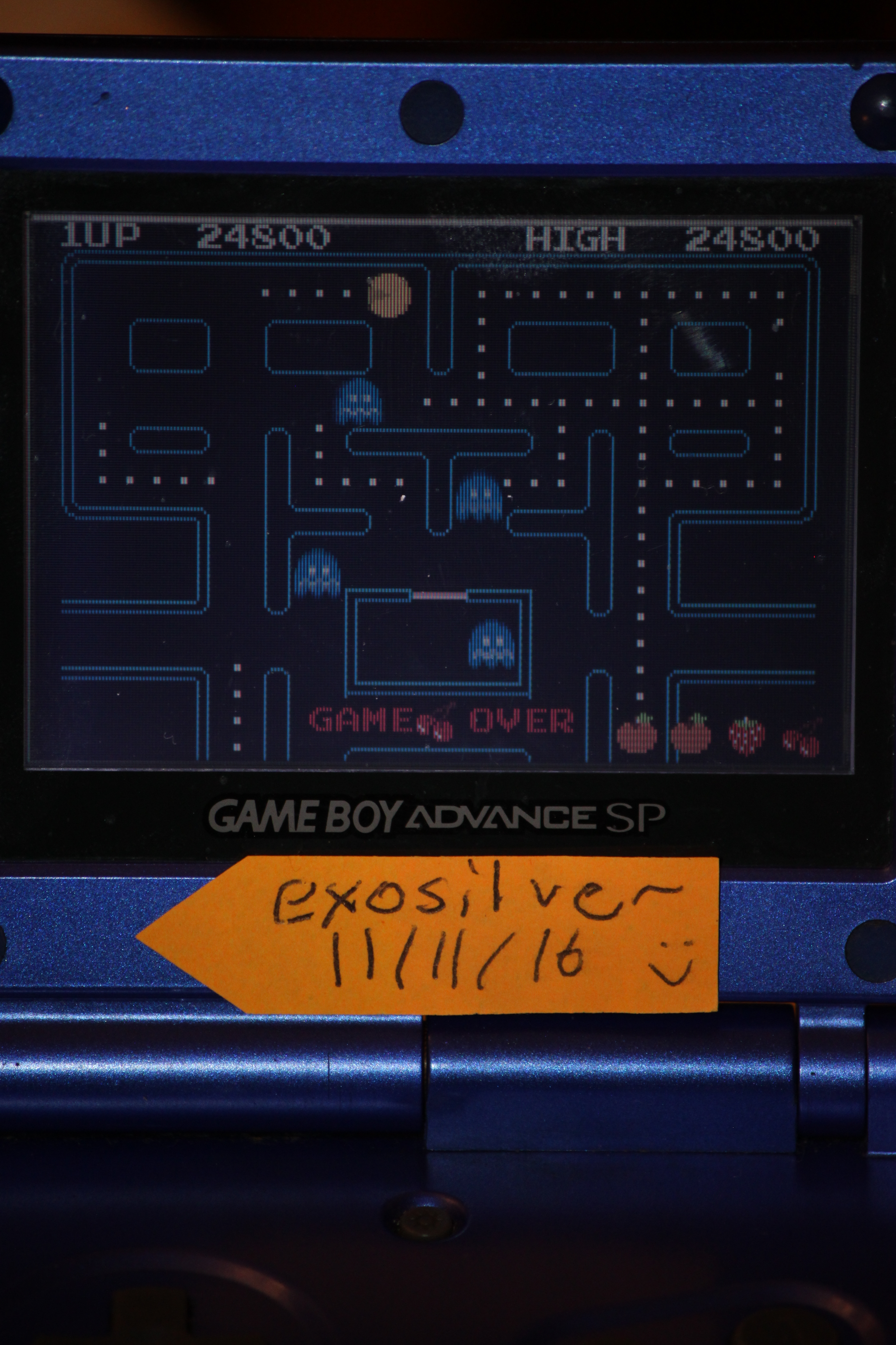 Pac-Man Collection: Pac-Man 24,800 points
