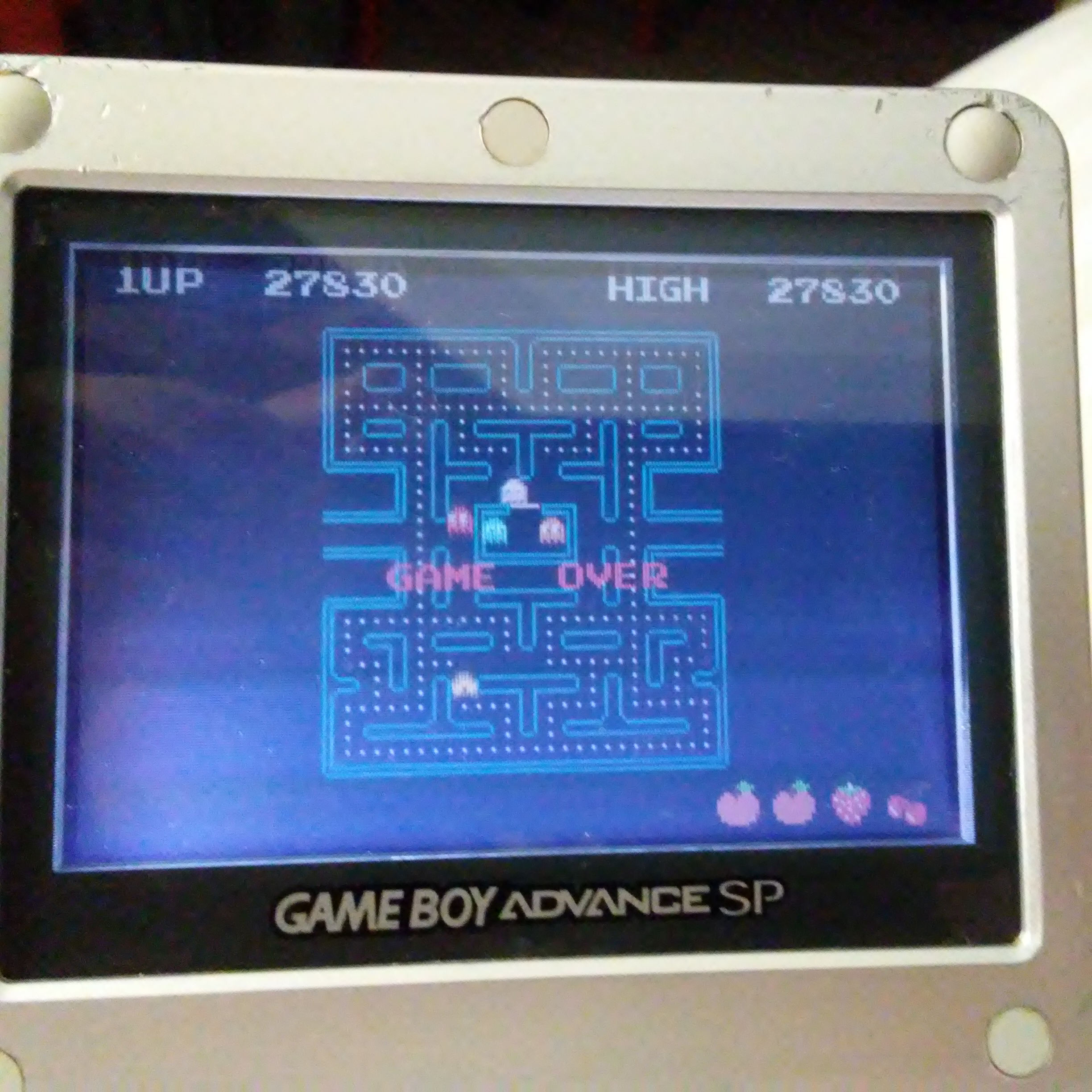 Pac-Man Collection: Pac-Man 27,830 points