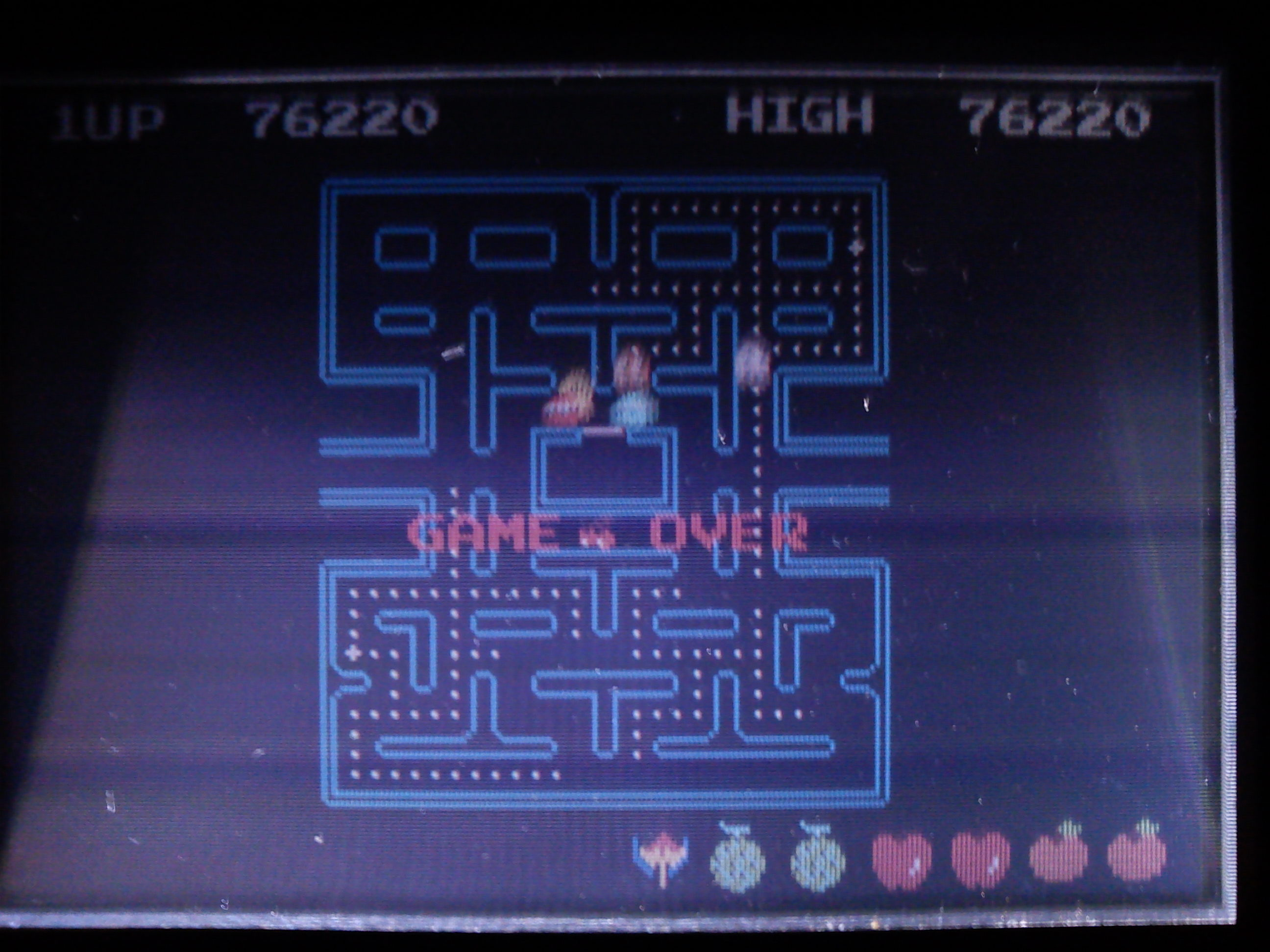 Pac-Man Collection: Pac-Man 76,220 points