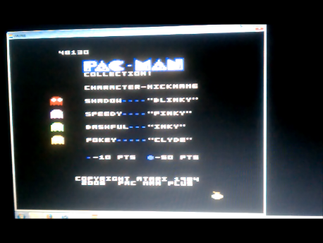 S.BAZ: Pac-Man Collection: Puck-Man [Melon One/Plus Off/Fast Off] (Atari 7800 Emulated) 48,130 points on 2016-02-11 02:30:58