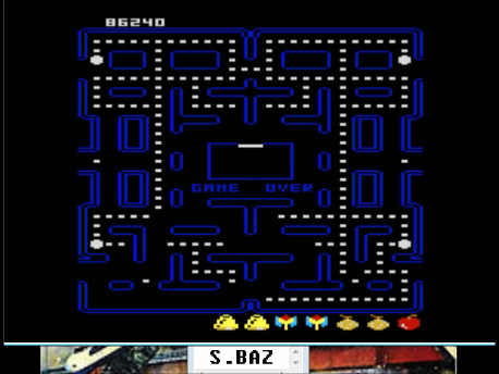 S.BAZ: Pac-Man Collection: Puck-Man [Strawberry/Plus Off/Fast Off] (Atari 7800 Emulated) 86,240 points on 2016-02-25 03:59:01