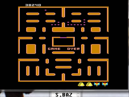 S.BAZ: Pac-Man Collection: Random [Galaxian One/Plus Off/Fast Off] (Atari 7800 Emulated) 38,240 points on 2016-03-02 00:29:14