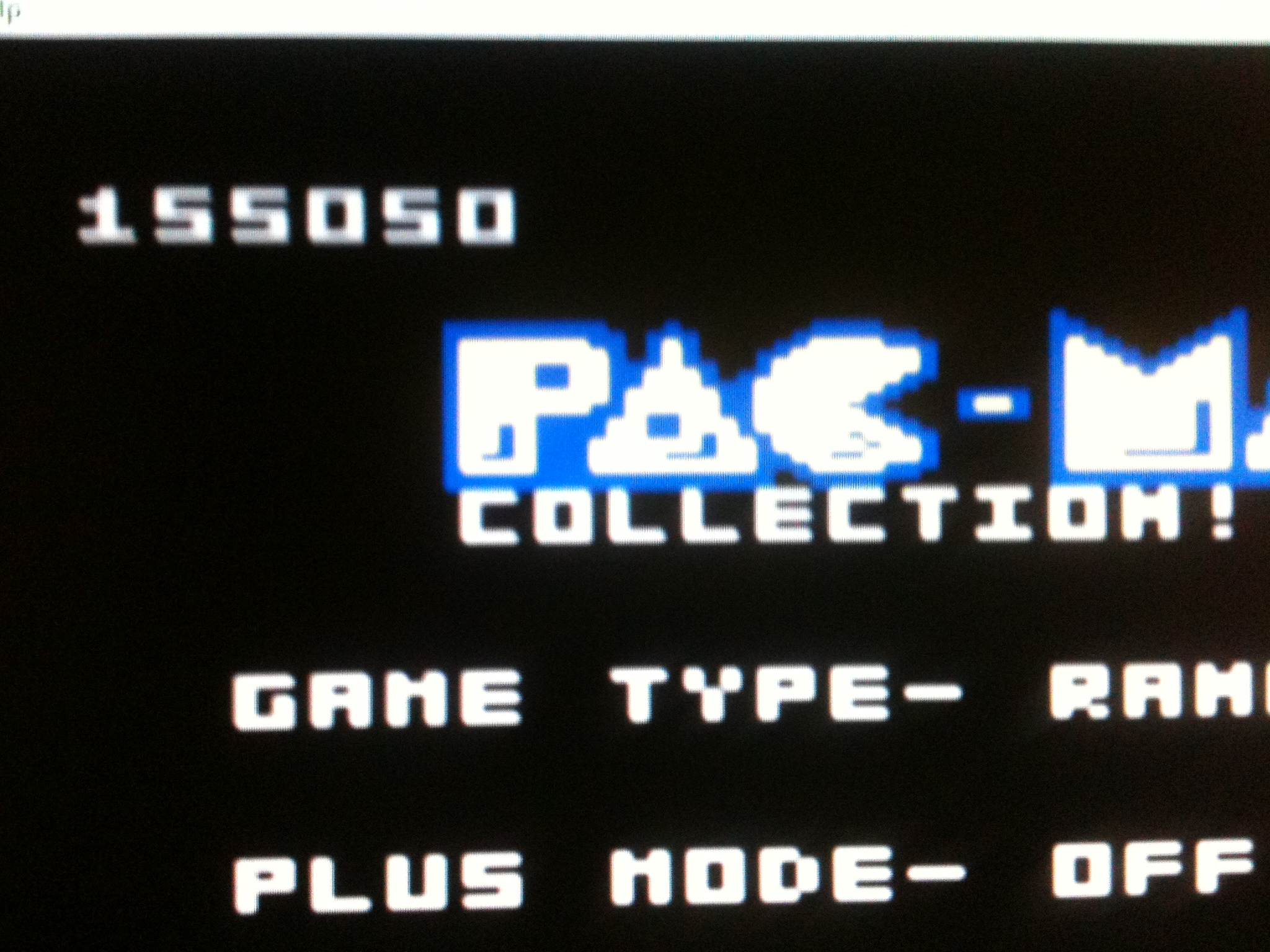 kernzy: Pac-Man Collection: Random [Galaxian Two/Plus Off/Fast On] (Atari 7800 Emulated) 155,050 points on 2015-09-16 13:53:00