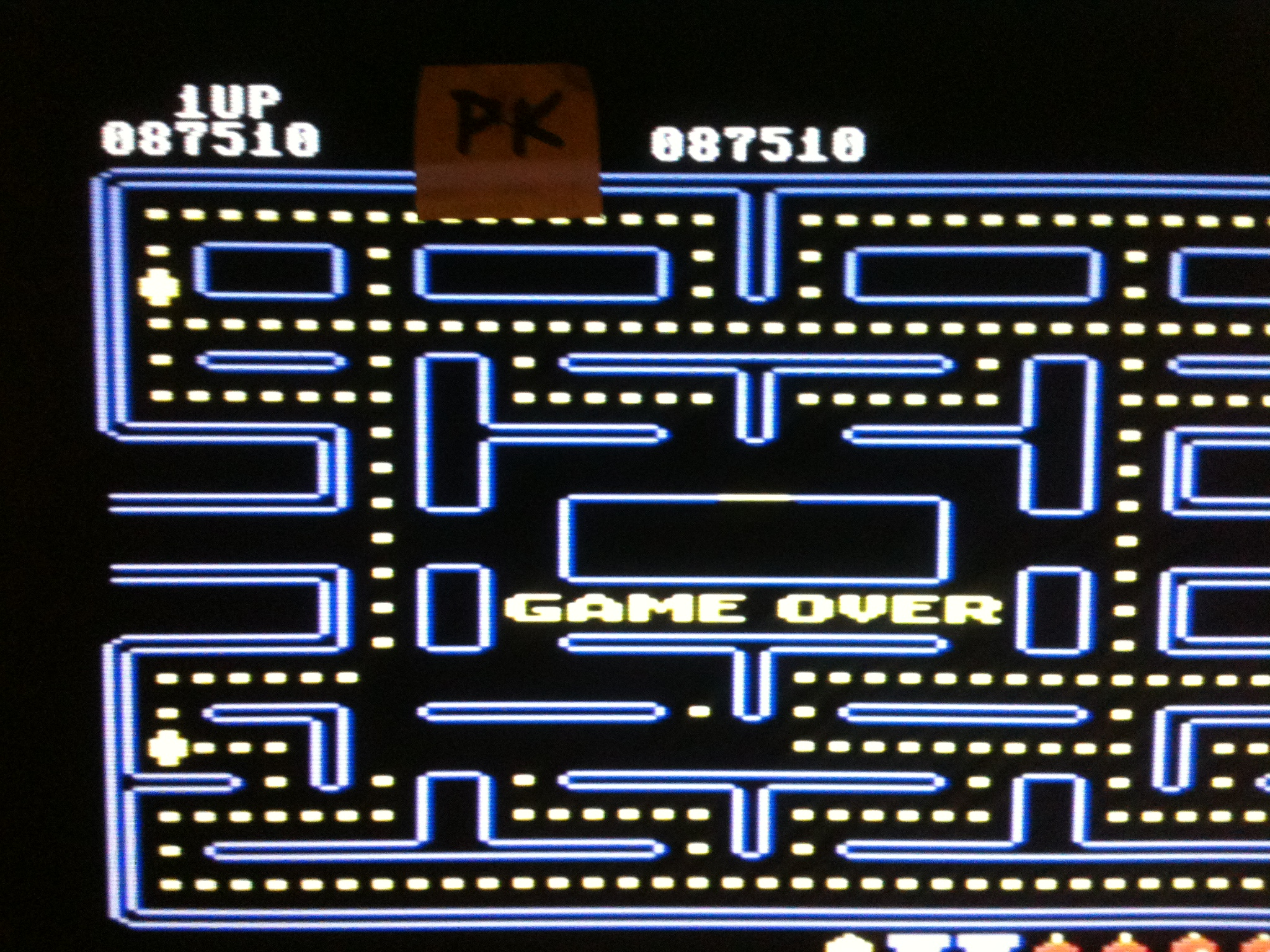 Pac-Man 87,510 points
