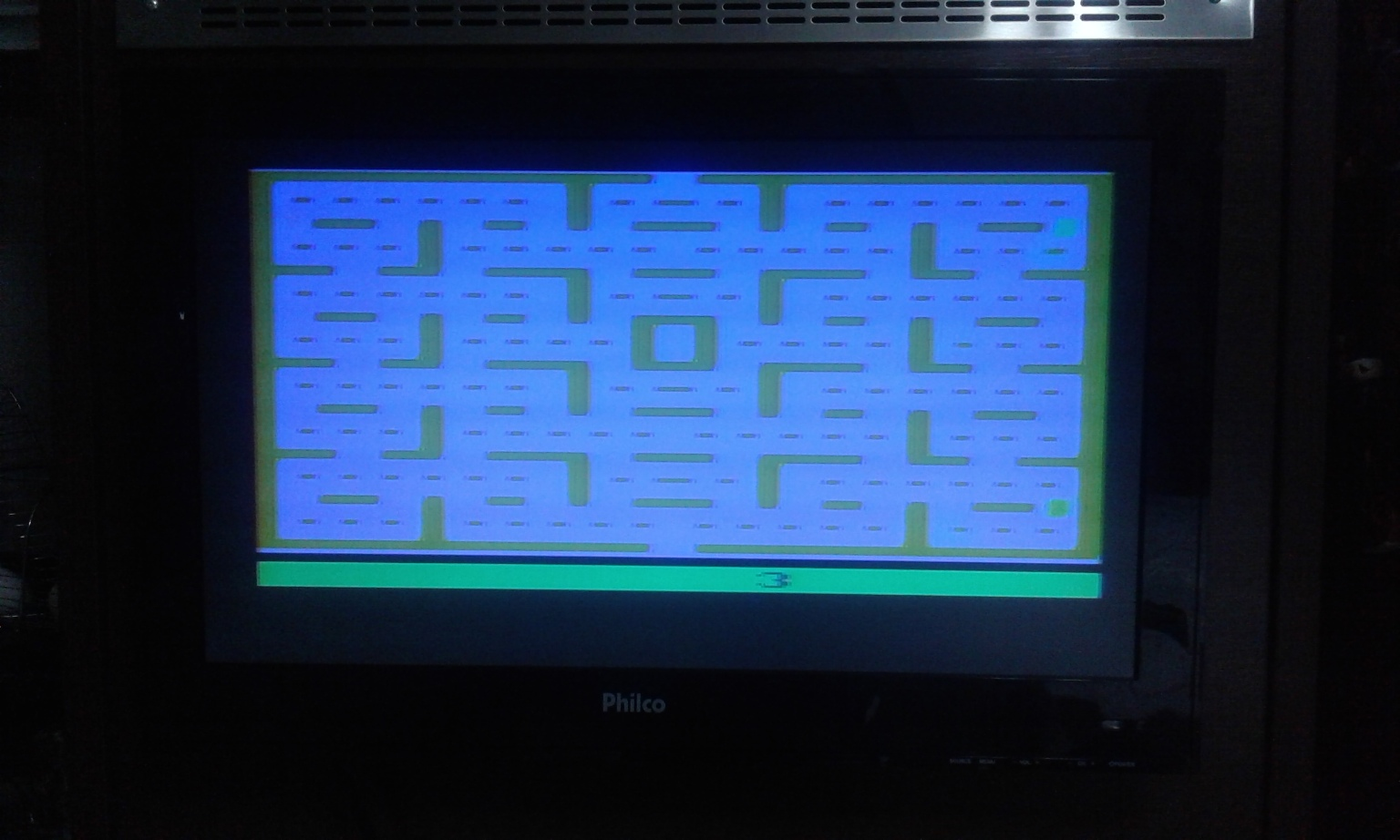 oyamafamily: Pac-Man: Game 3 (Atari 2600 Expert/A) 6,000 points on 2017-02-02 18:28:54