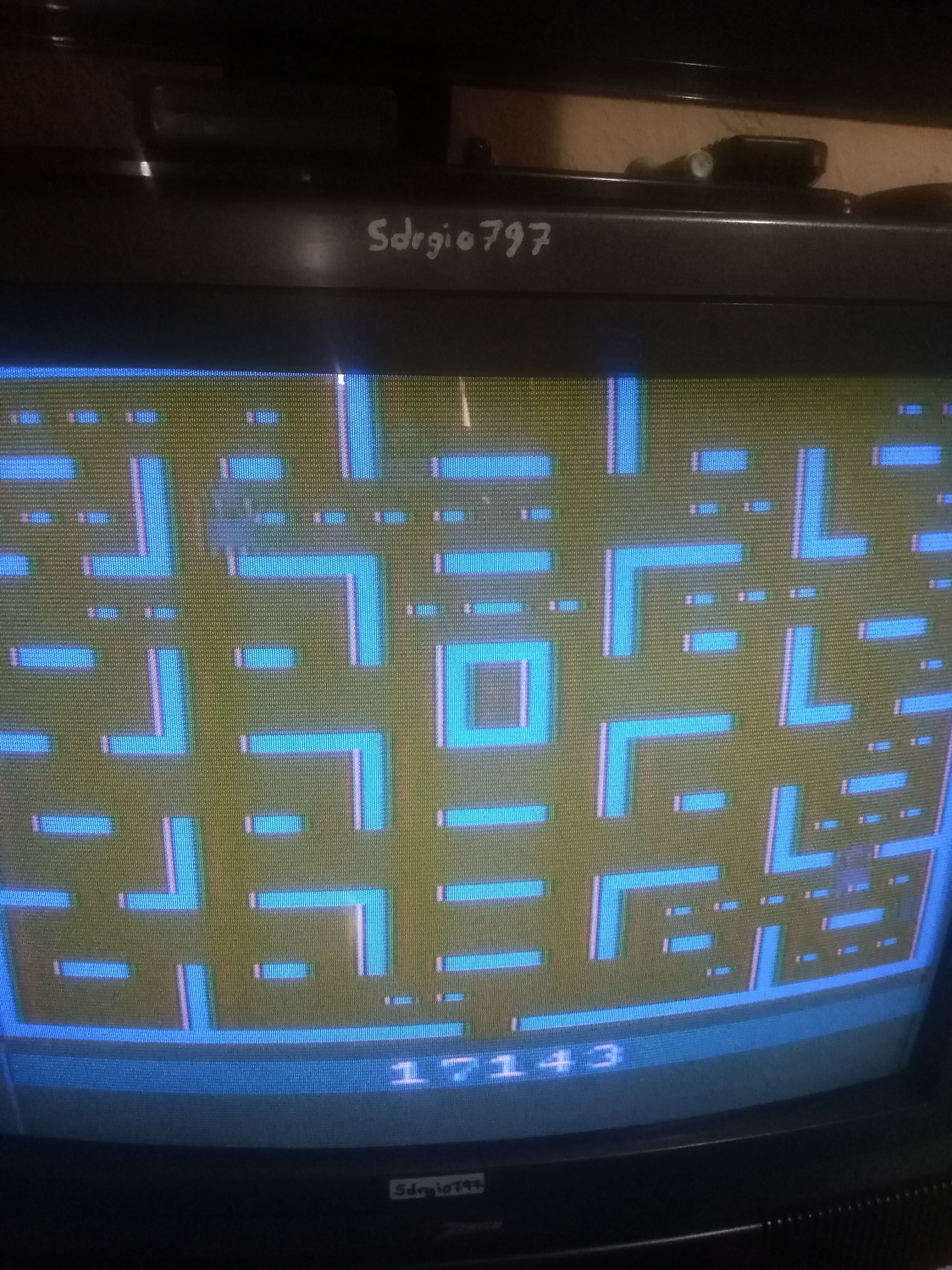 Pac-Man: Game 3 17,143 points
