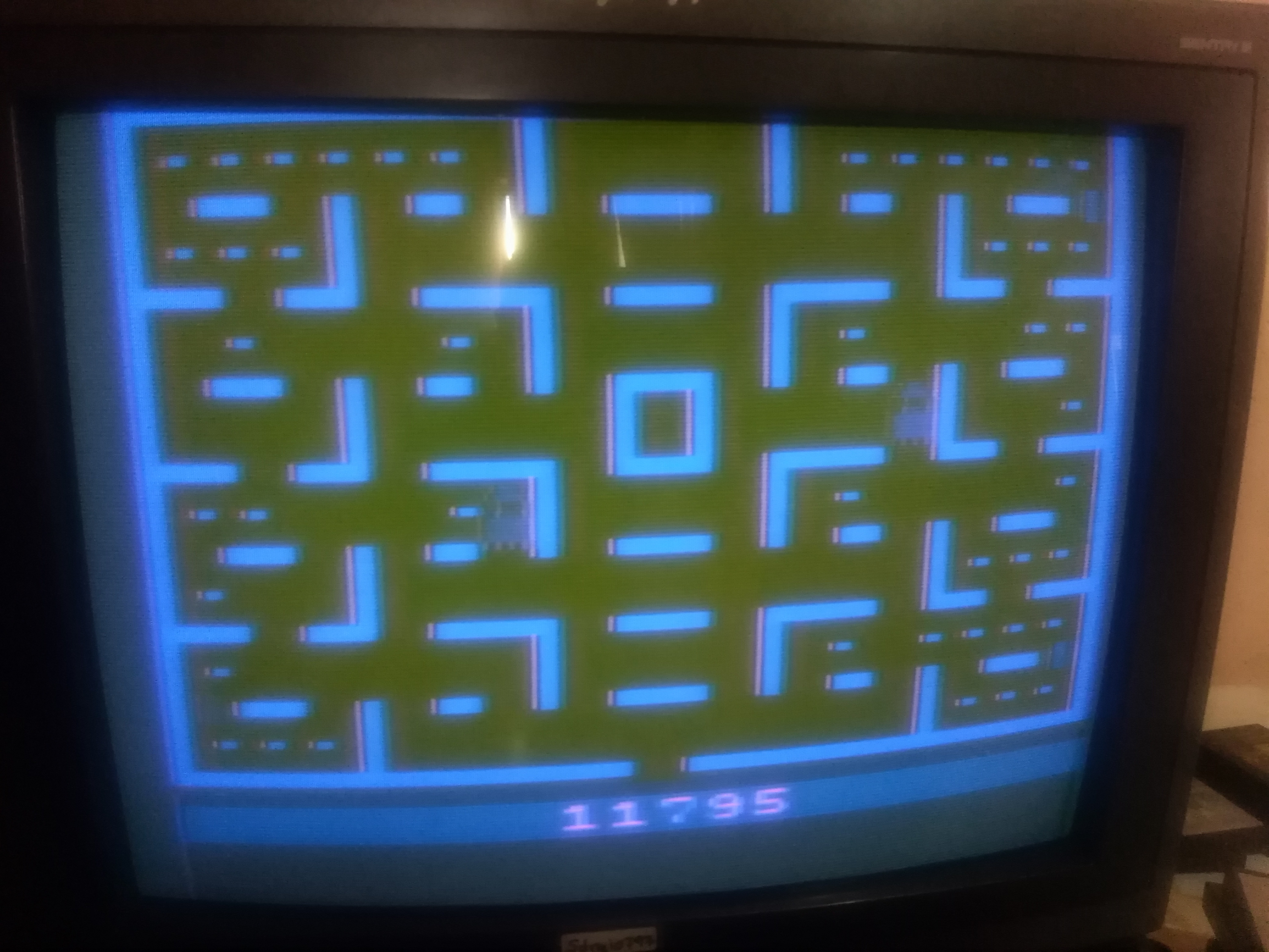 Pac-Man: Game 5 11,795 points