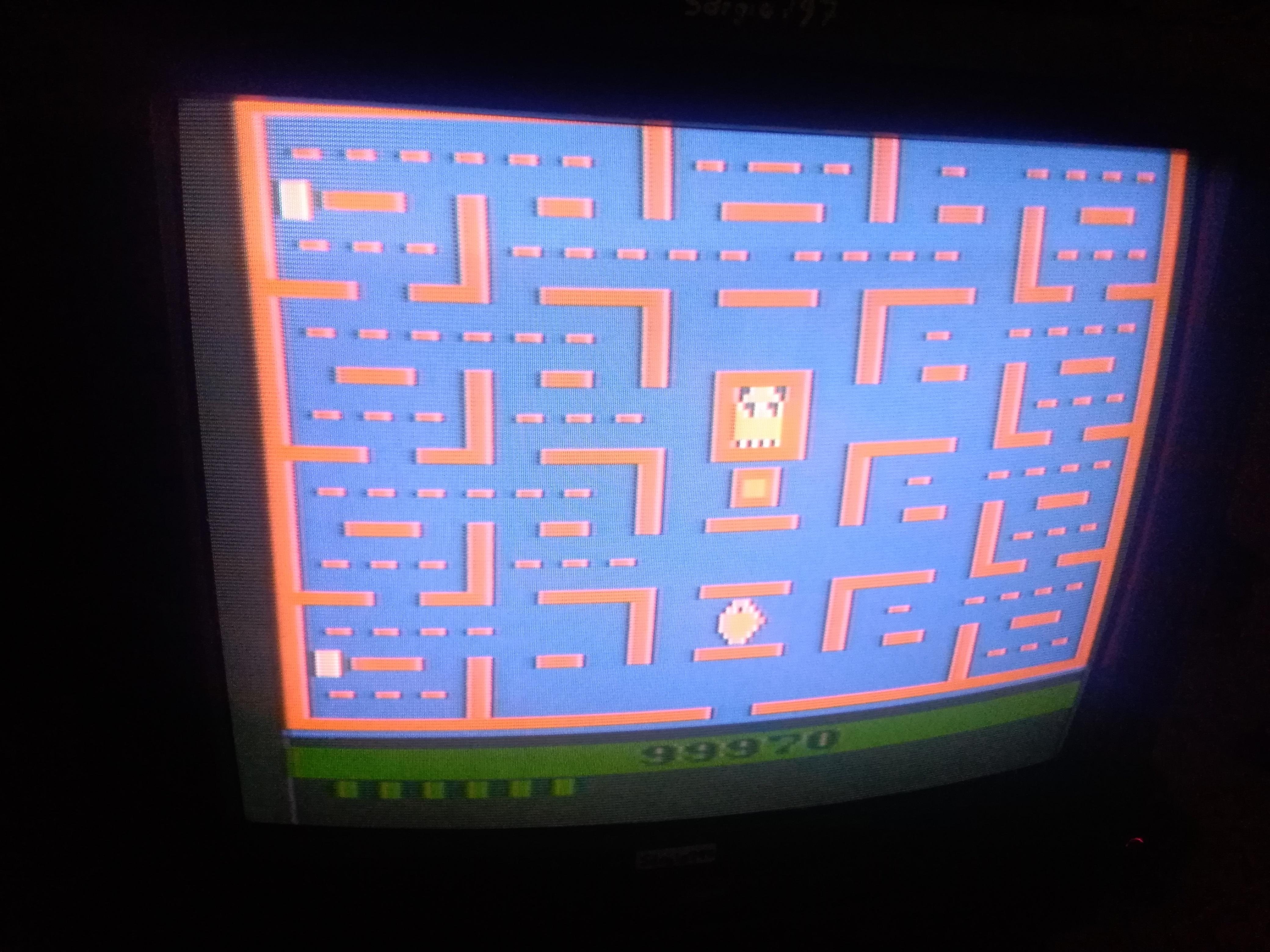 Pac-Man: Game 5 106,505 points