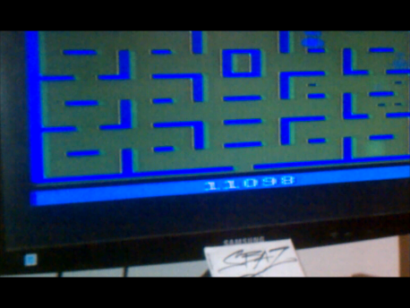 S.BAZ: Pac-Man: Game 6 (Atari 2600 Expert/A) 11,098 points on 2016-02-29 19:36:16