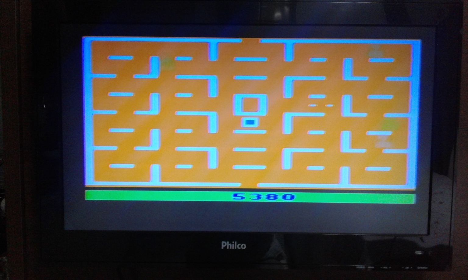 oyamafamily: Pac-Man: Game 6 (Atari 2600 Expert/A) 5,380 points on 2017-02-02 18:33:53