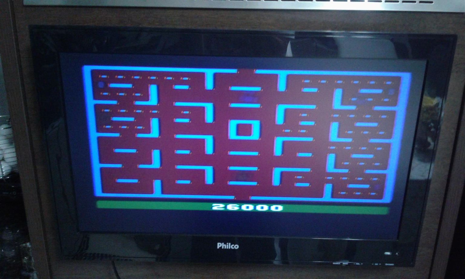 oyamafamily: Pac-Man: Game 6 (Atari 2600 Novice/B) 26,000 points on 2016-11-17 17:32:03