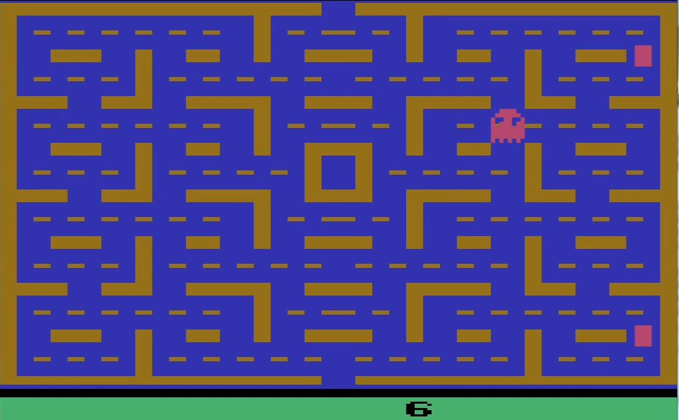 nads: Pac-Man: Game 6 (Atari 2600 Emulated Expert/A Mode) 10,003 points on 2016-03-27 08:07:46