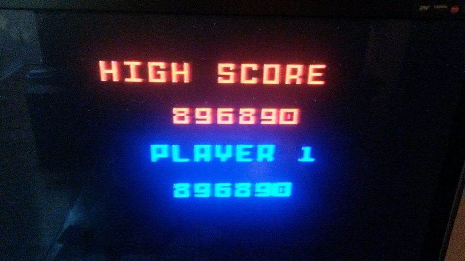 doguhnew: Pac-Man (Intellivision) 896,890 points on 2017-10-12 03:10:38