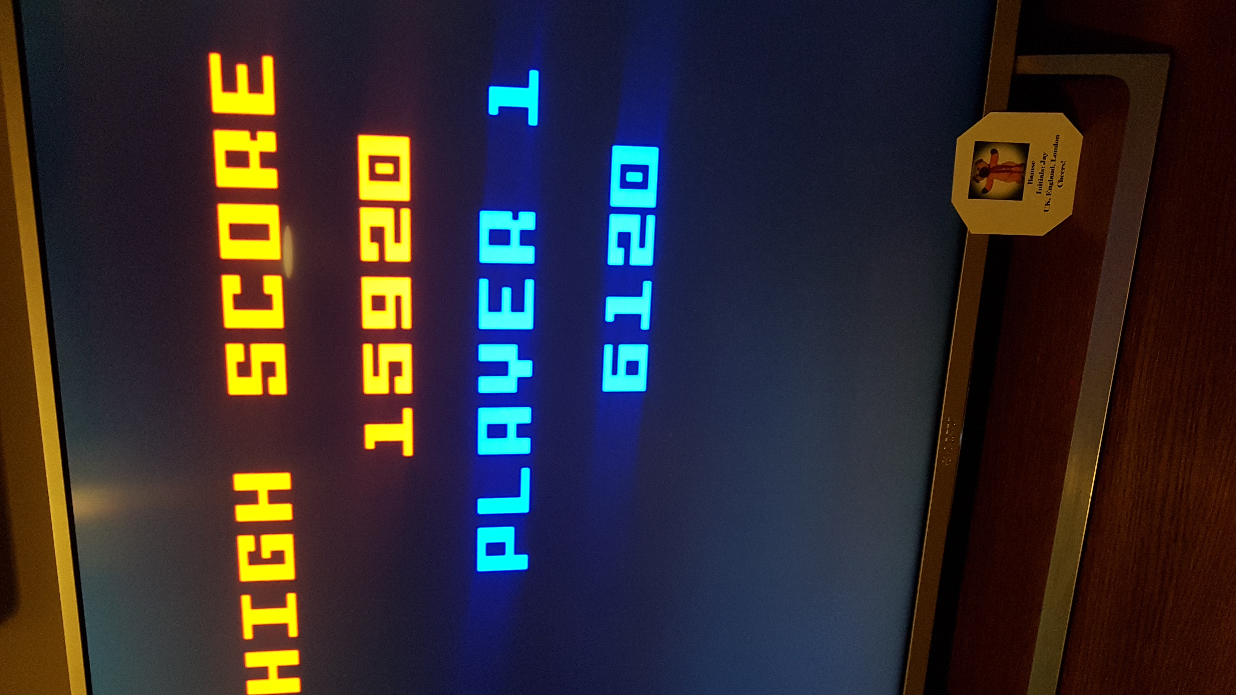 Pac-Man 15,920 points