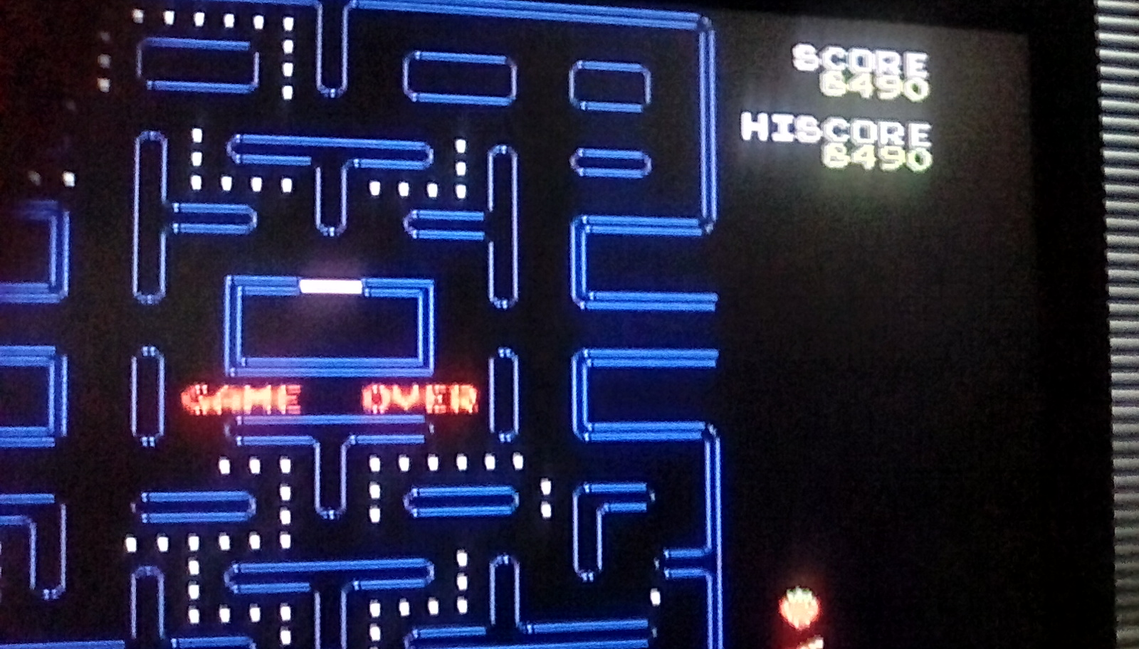 Pac-Man 8,490 points