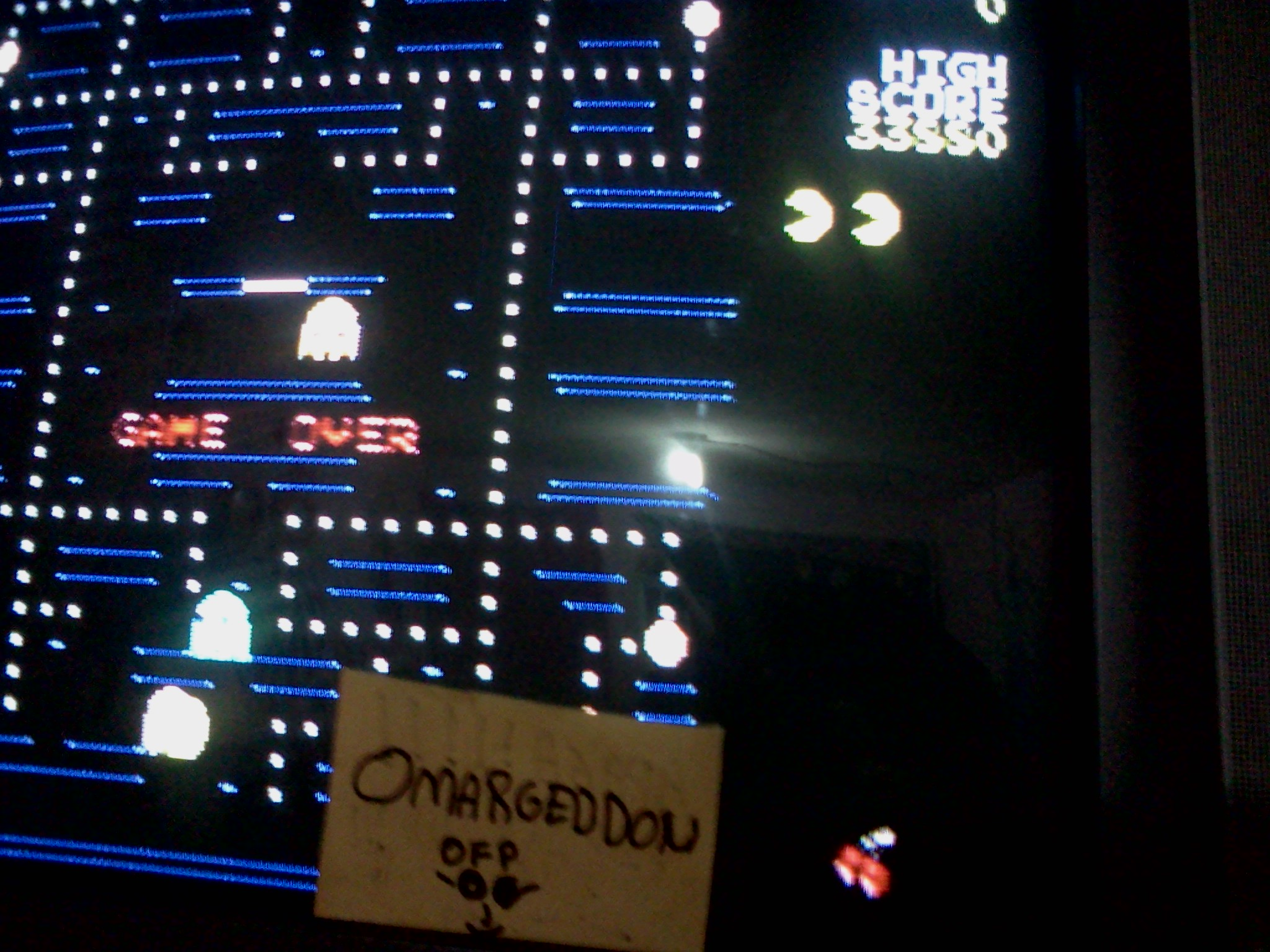 Pac-Man 33,880 points