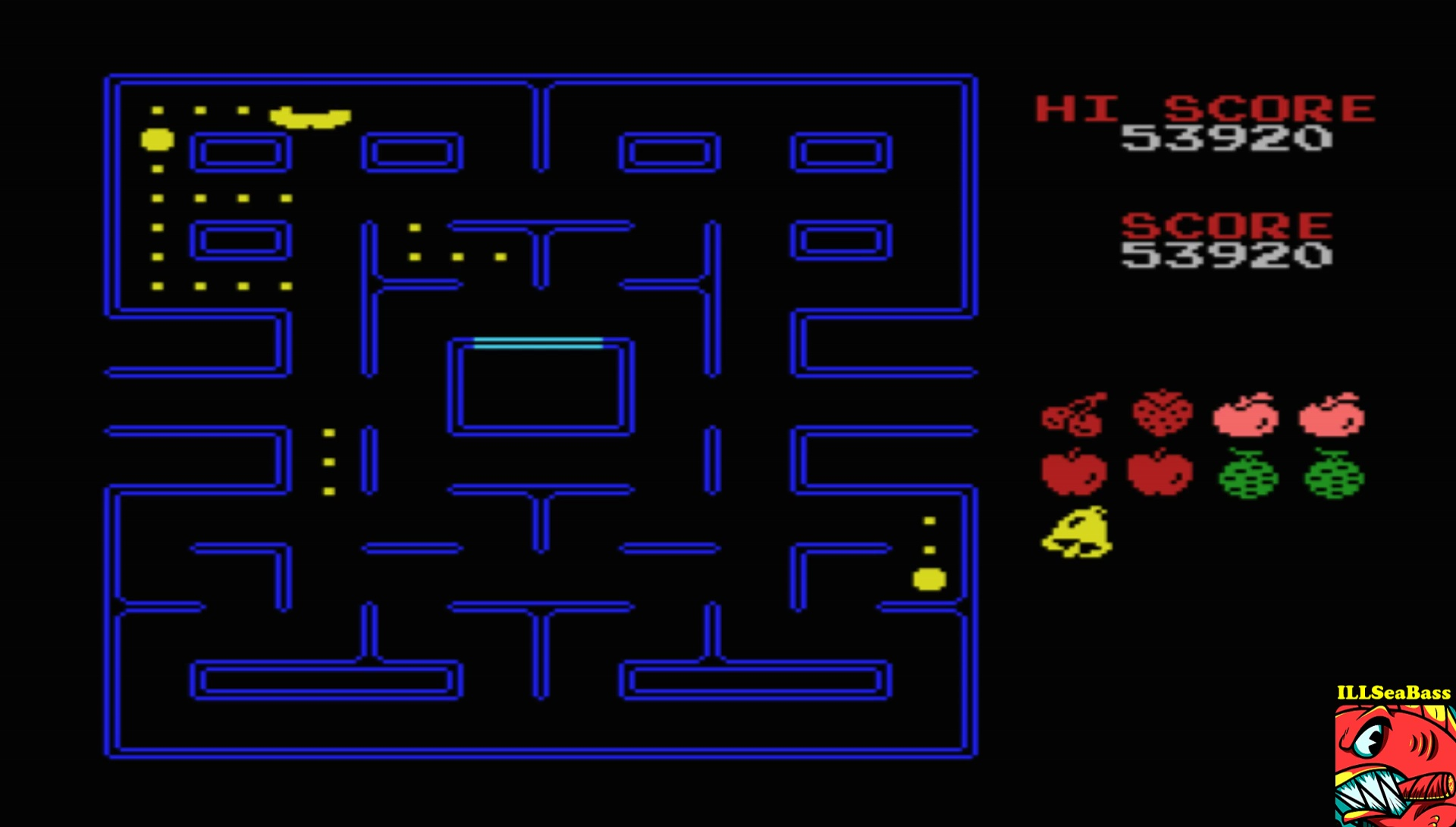 ILLSeaBass: Pac-Man (MSX Emulated) 53,920 points on 2017-04-09 11:30:16