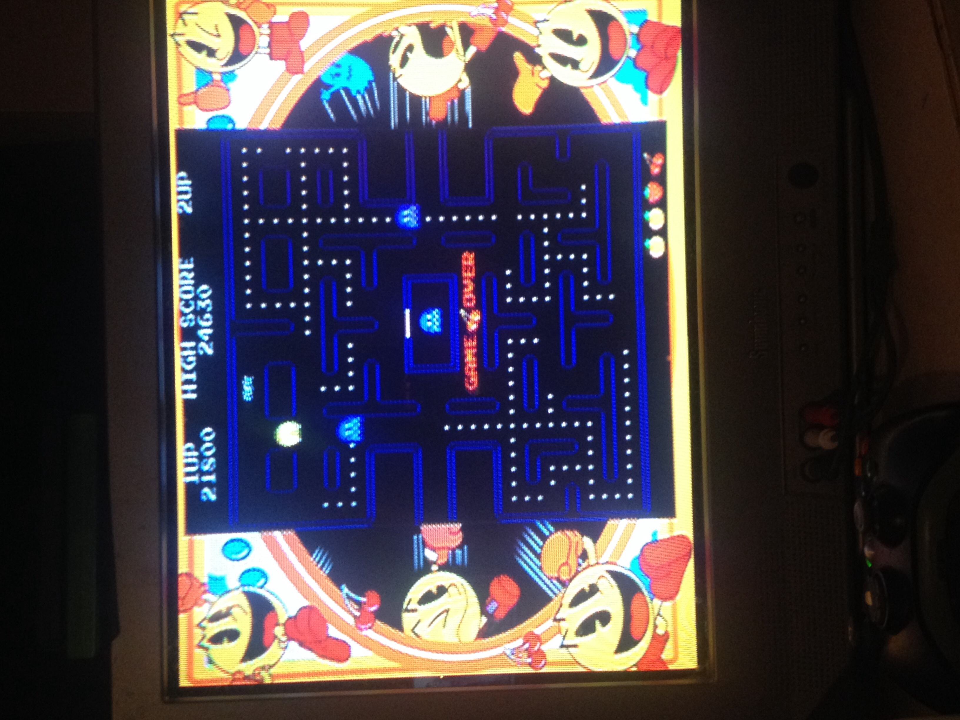Pac-Man Museum: Pac-Man 21,800 points