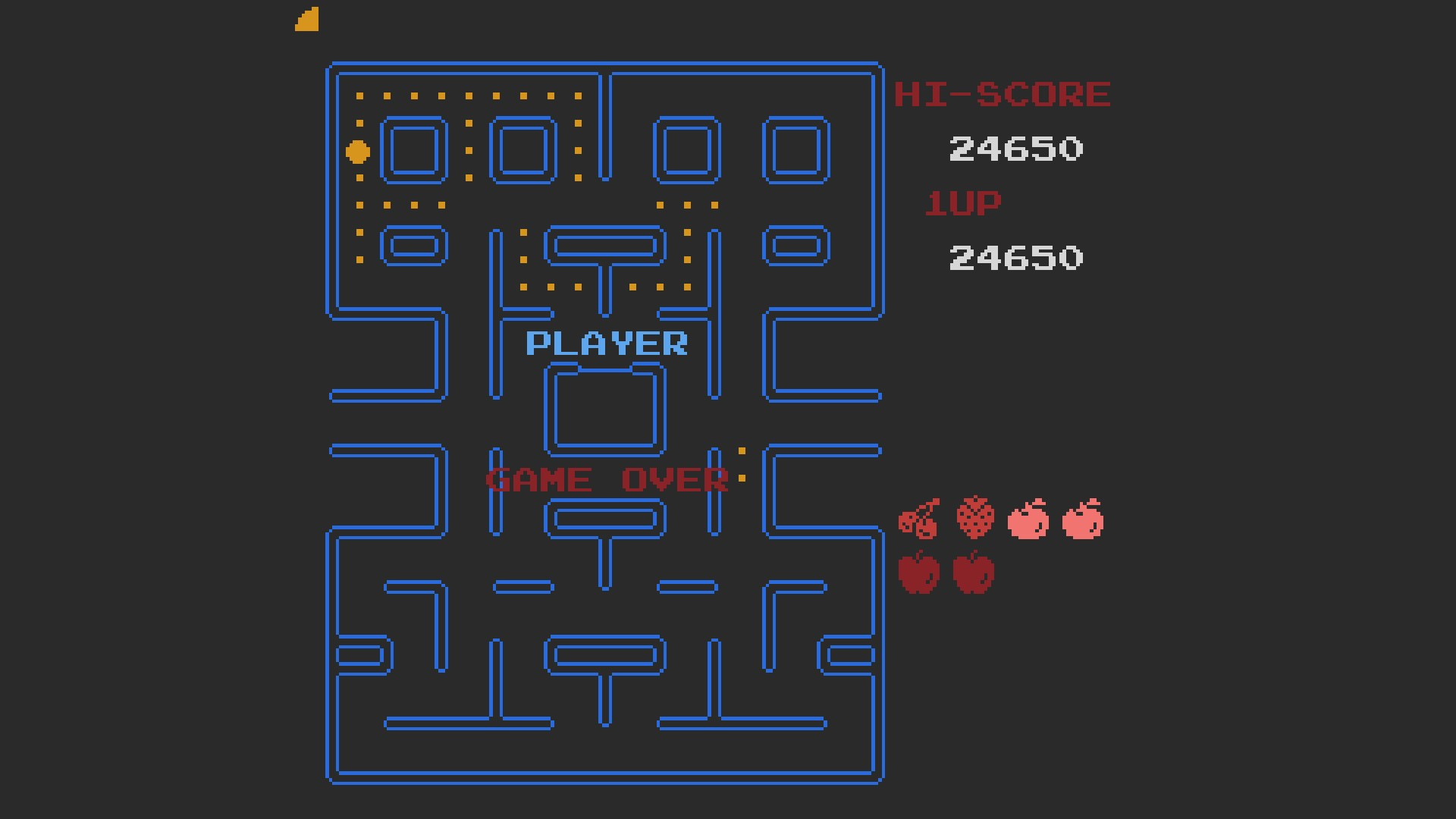 Pac-Man 24,650 points