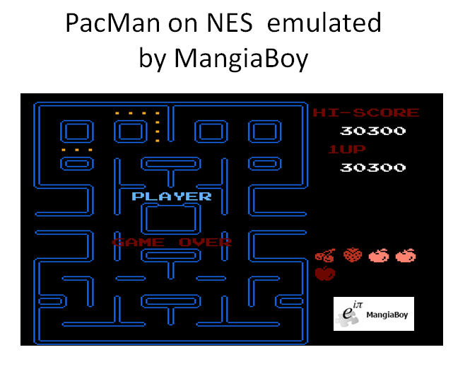 MangiaBoy: Pac-Man (NES/Famicom Emulated) 30,300 points on 2016-04-07 15:41:50