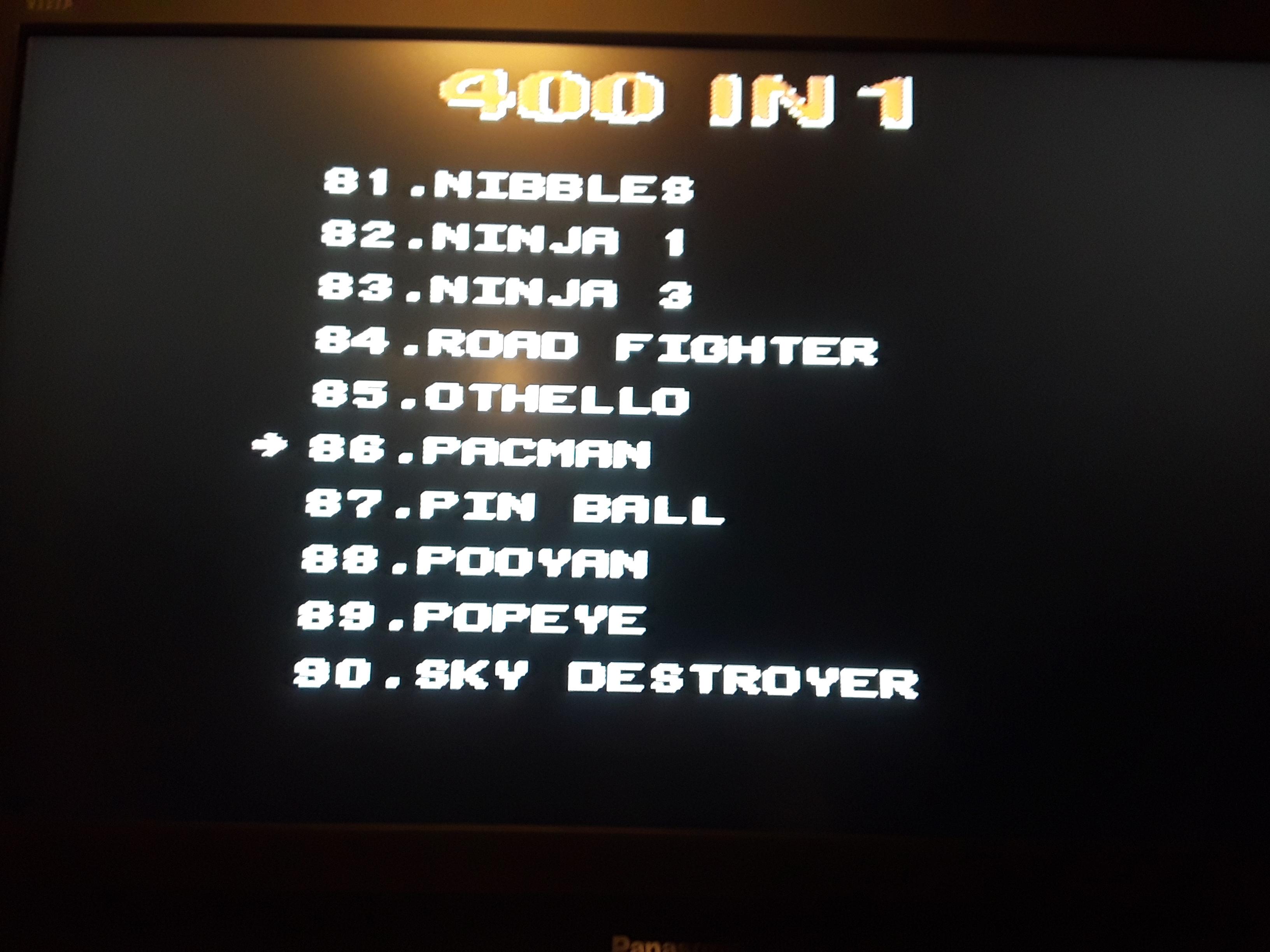 Pac-Man 14,010 points