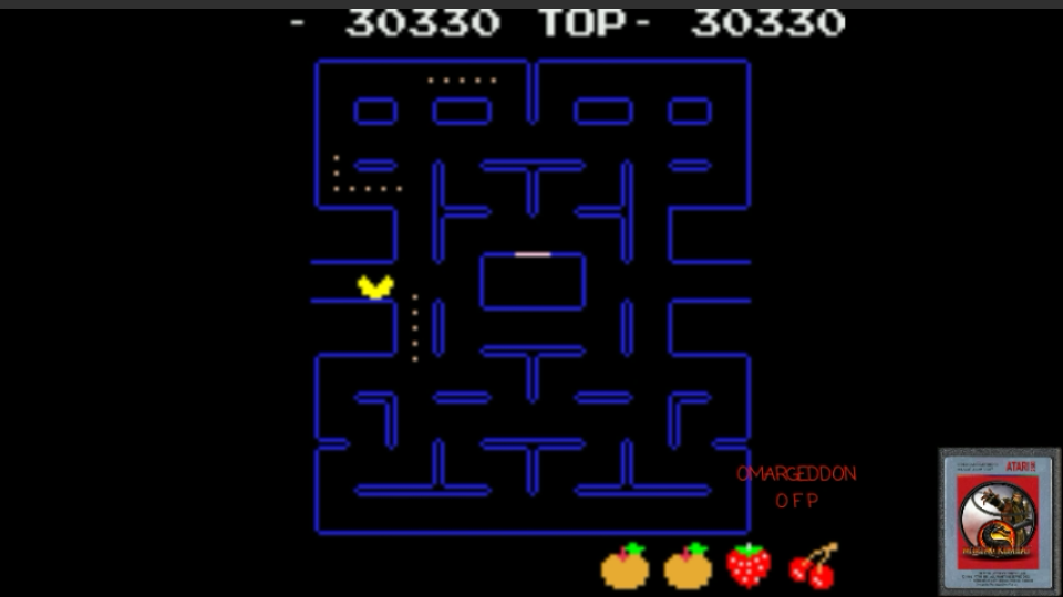 Pac-Man 30,330 points