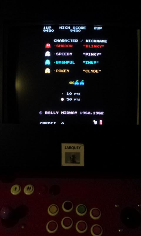 Pac-Man Plus 9,450 points