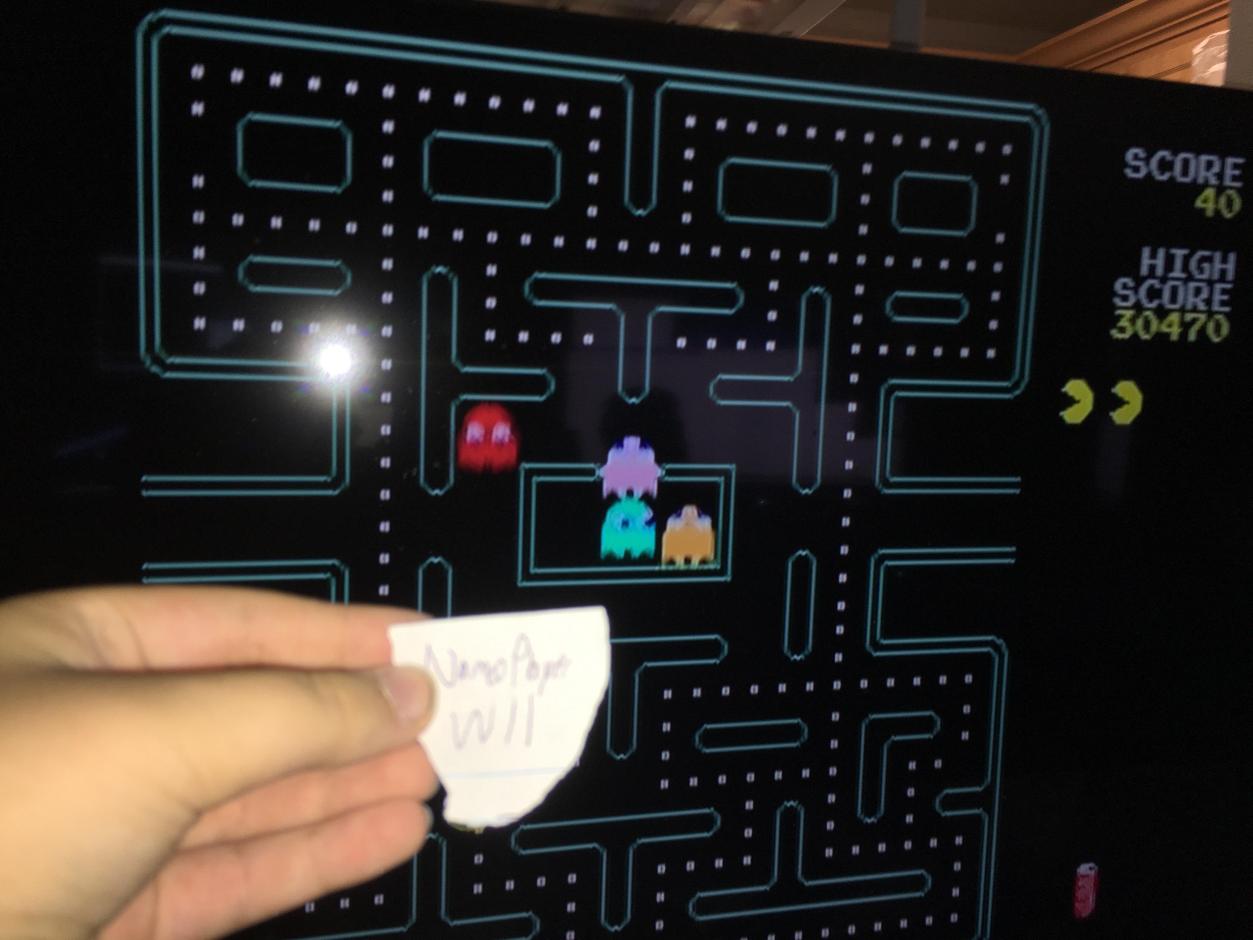 NamcoPlayer: Pac-Man Plus (Jakks Pacific Retro Arcade Pac-Man) 30,470 points on 2020-12-04 16:32:07