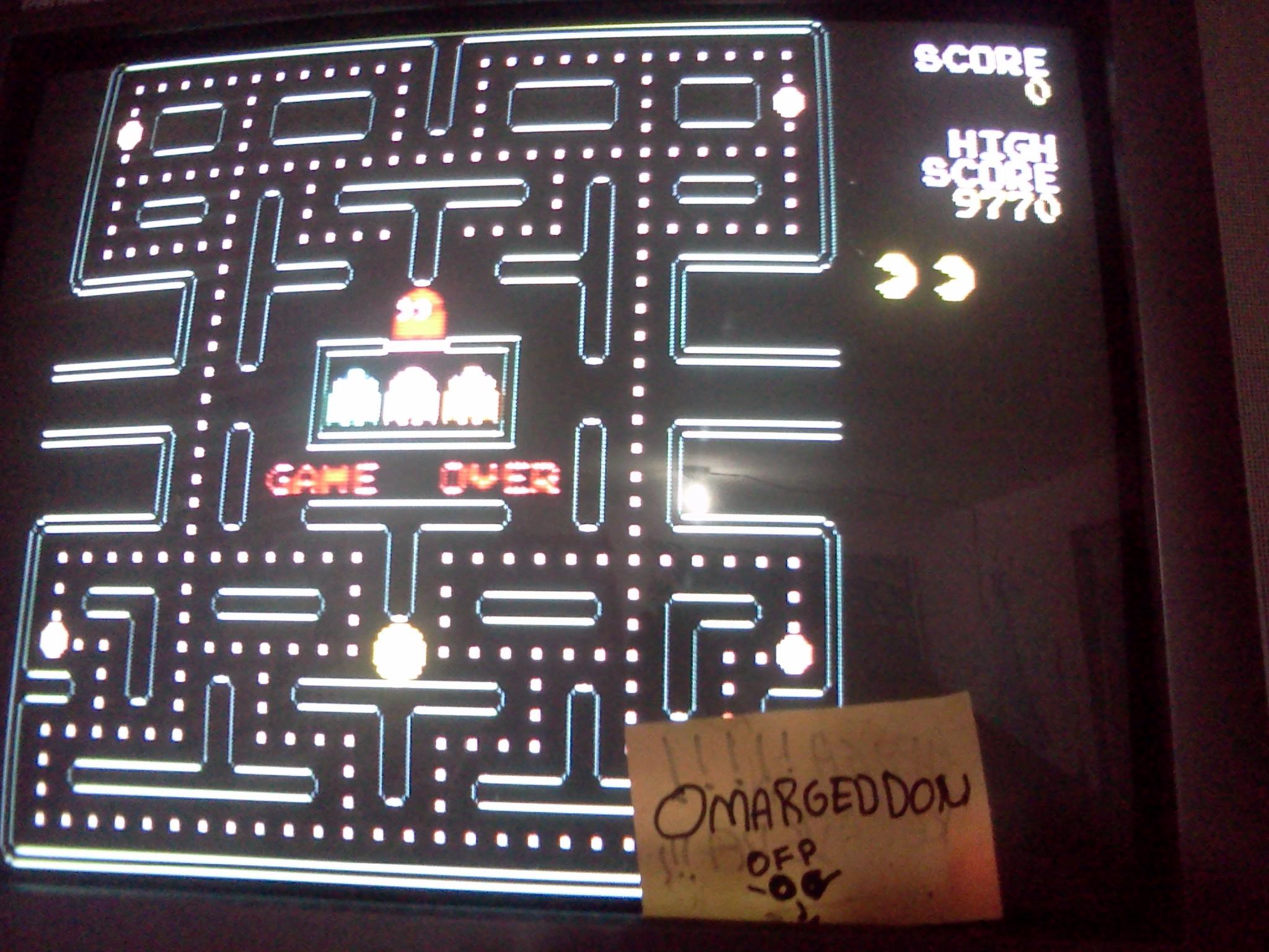 omargeddon: Pac-Man Plus (Jakks Pacific Retro Arcade Pac-Man) 9,770 points on 2016-07-24 00:28:46