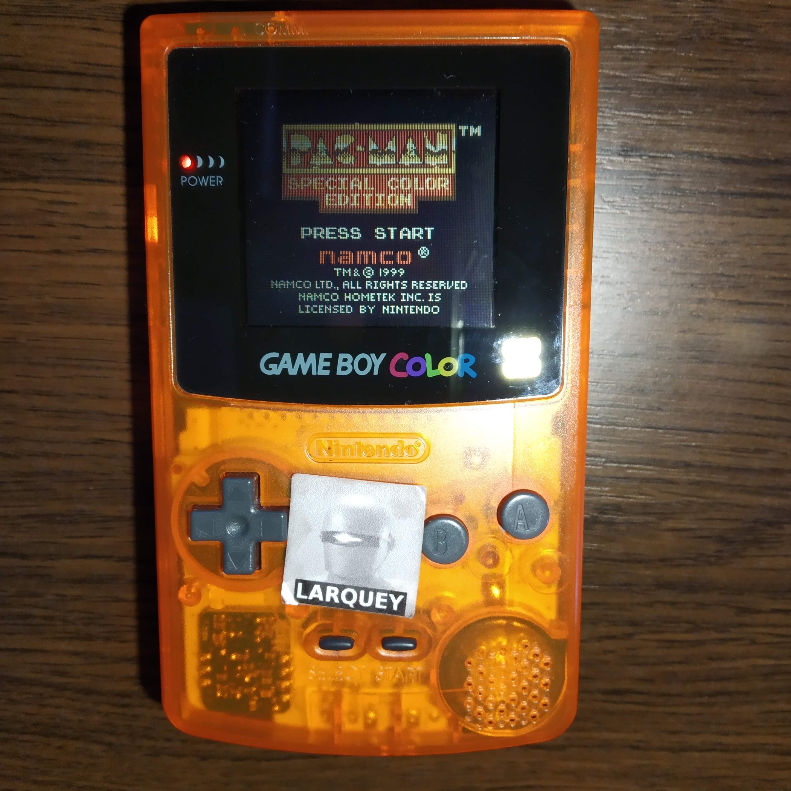 Larquey: Pac-Man: Special Color Edition (Game Boy Color) 30,590 points on 2020-07-23 10:54:08