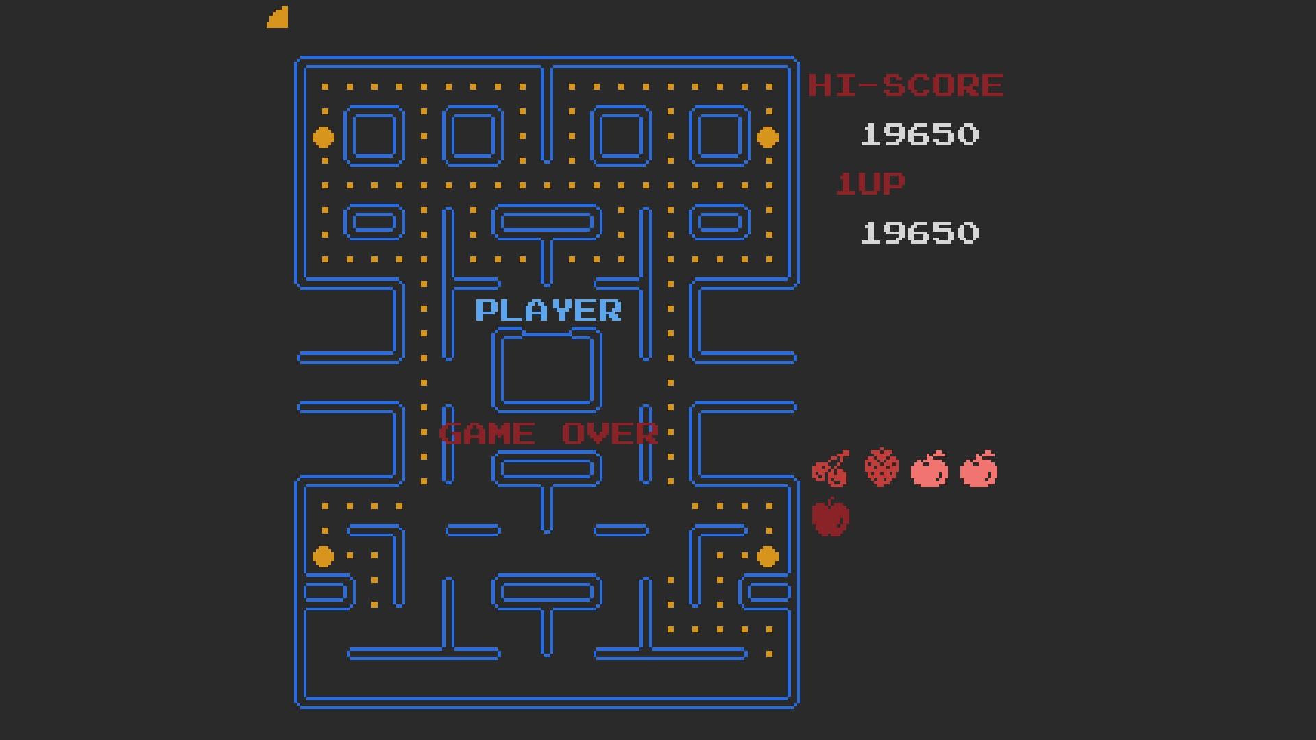 Pac-Man [Tengen] 19,650 points