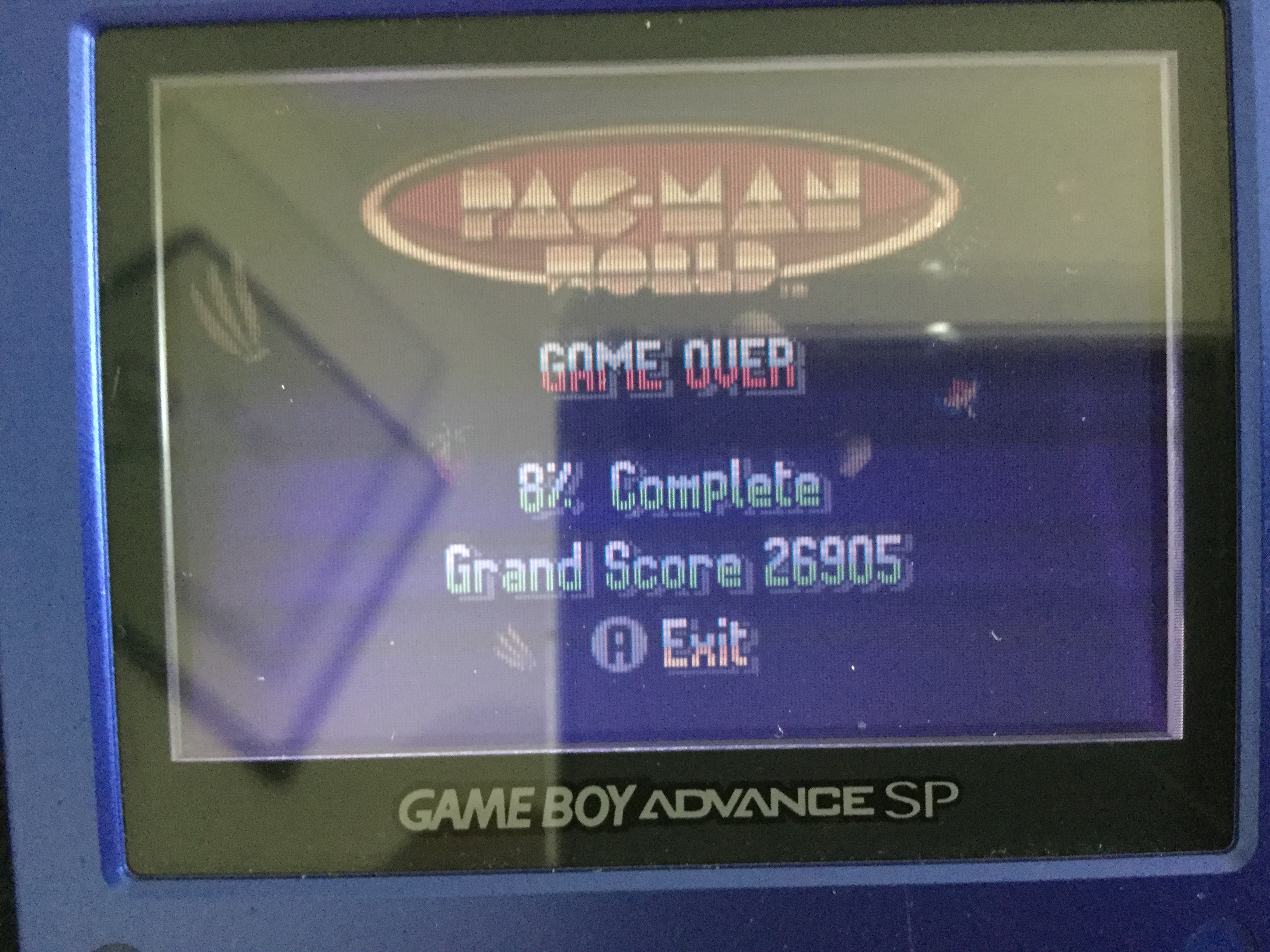 Frankie: Pac-Man World (GBA) 26,905 points on 2018-05-01 01:50:36